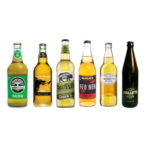 Proefpakket Dry-Medium ciders