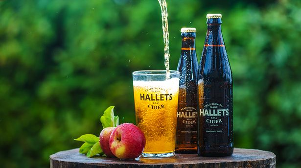 Hallets cider BBC food & farming Awards