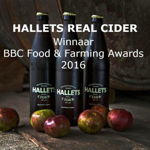 Hallets Real Cider Aanbieding