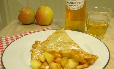Cider recept: pannenkoek met appel