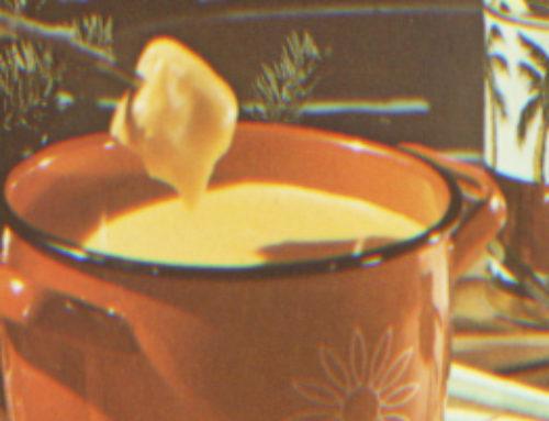 Cider recept: kaasfondue